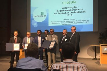 Biobeta Sediment Check wins the Biogas Innovation Award in Germany!